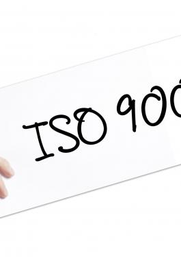 CERTIFICERING KWALITEITS- MANAGEMENT- SYSTEEM ISO 9001